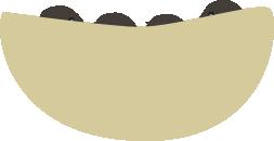 ツバメの巣(ヒナが見えない)
