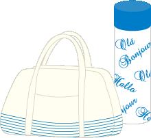 弁当と水筒