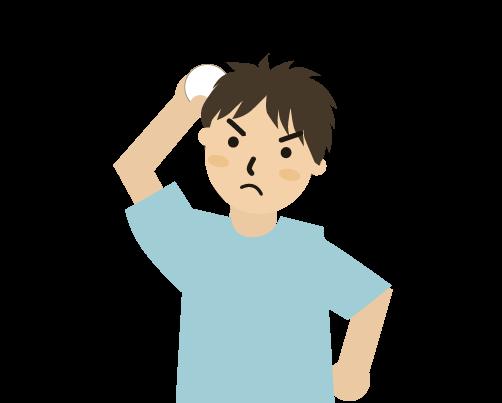 ボールを投げる