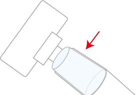 掃除機の透明部分