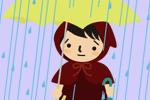 雨のチビずきん