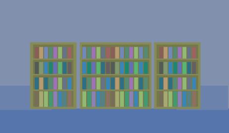 図書館の設定の舞台