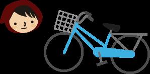 チビずきんの自転車