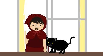 地域猫が来た