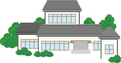 日本家屋を改造したお店