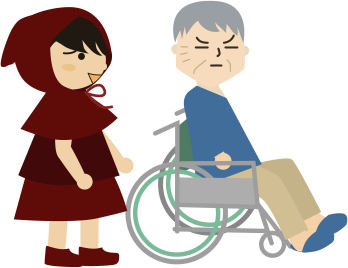 車椅子の父と私