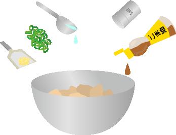 ネギ塩唐揚げを作る