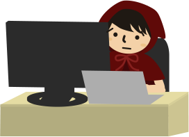 パソコンで検索