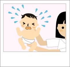 産まれた時の写真
