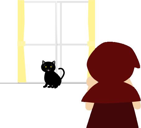 黒猫を呼ぶ