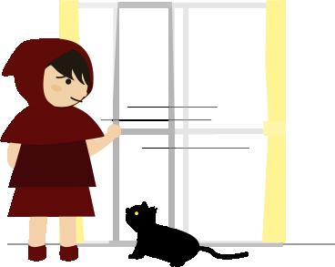 戸を閉める