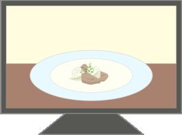 テレビ(料理番組)