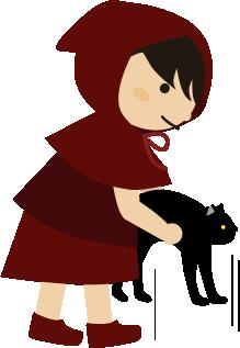 猫をそっと抱き上げる