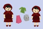 洋服やかばんを親子で共用
