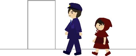 警察で案内される