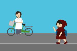 自転車の距離