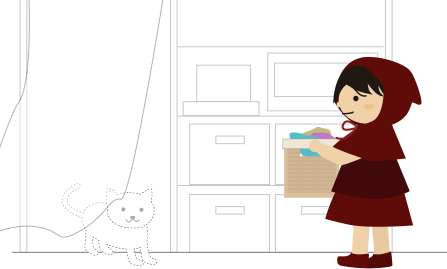 ベランダの戸が開いてても猫が入ってきたりしない