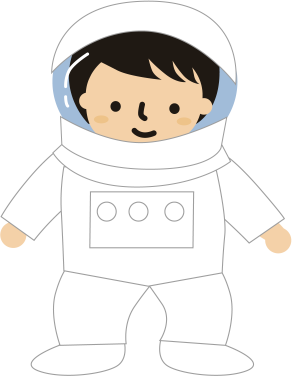 宇宙服みたいな子供服