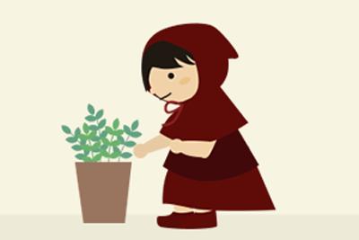 植物のお世話