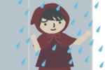 どしゃどしゃ雨