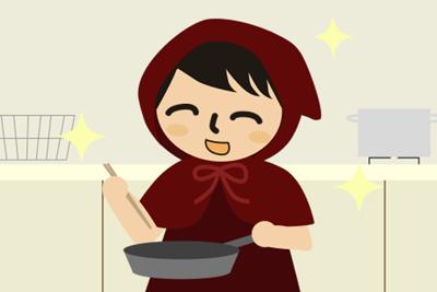料理が楽しい!