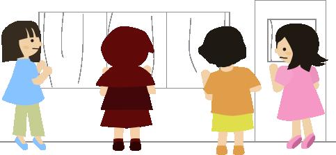 1歳児クラスの参観日