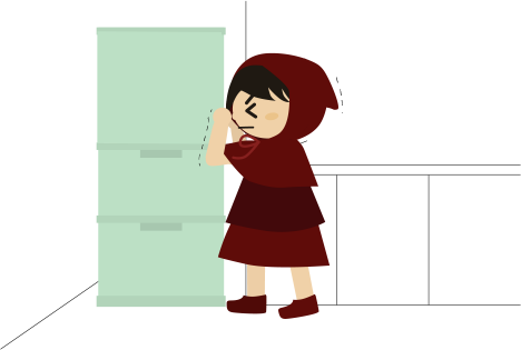 冷蔵庫の扉が開かなくなった!
