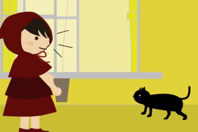 黒猫がくる
