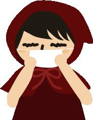 風邪ひいてる