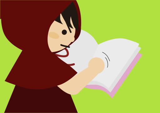 本でも指2本で広げる
